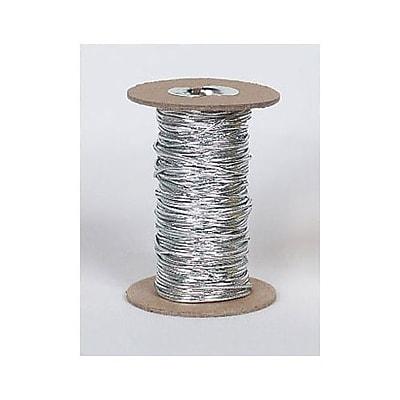 50 yds. Stretch Cord on Spool, Silver (253-50-7)