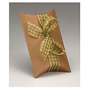 "Bags & Bows® 2"" x 5 1/2"" x 7"" Pillow Boxes, 250/Pack (255-070502-8)"