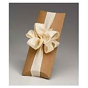 """Kraft Paper 1.5""""H x 4.5""""W x 12""""L Pillow Boxes, Brown, 100/Pack"""