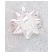 "Jeweler's Star Bows, 1-1/4"", Iridescent, 300/Pack"
