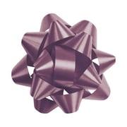 """2 3/4"""" Splendorette® Star Bows, Burgundy"""
