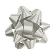 "2 3/4"" Splendorette® Star Bows, Silver"