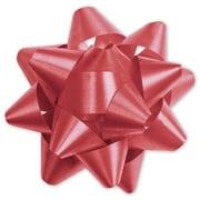 """3 3/4"""" Splendorette® Star Bows, Red"""