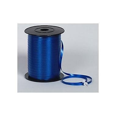 SplendoretteMD – Ruban à friser, 3/16 po x 500 verges, bleu royal, paquet de 4