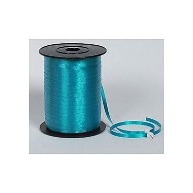SplendoretteMD – Ruban à friser, 3/16 po x 500 verges, turquoise, paquet de 4