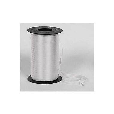 SplendoretteMD – Ruban à friser, 3/16 po x 500 verges, argenté, 4/paquet