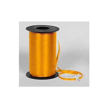 SplendoretteMD – Ruban à friser, 3/16 po x 500 verges, orange tropicale, paquet de 4
