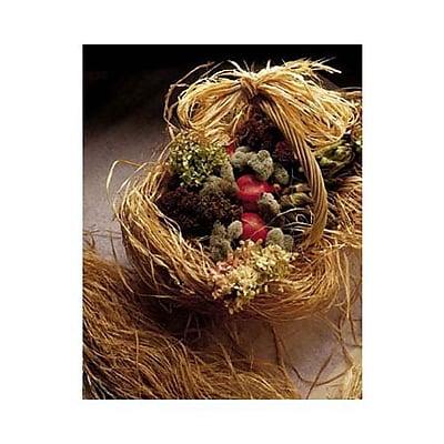 Bags & Bows® Natural Raffia, 8 oz, 1 Roll/Pack
