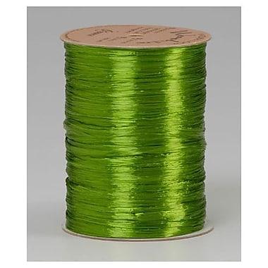 Graphic – Ruban perlé, 1/4 po x 100 vg, vert pomme, paquet de 4