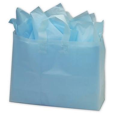 Sacs givrés à haute densité, 16 x 6 x 12 po, turquoise, 250/paquet