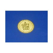 "1 7/8"" A Gift For You Medallion Seal, Gold"