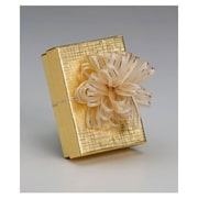 """2"""" Fasbos Bows, Ivory"""