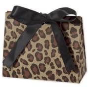 """3 3/4"""" x 4 1/2"""" x 2"""" Purse Style Gift Card Holder, Leopard"""