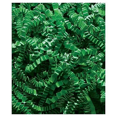 Crinkle Cut Fill, 10 lbs., Green