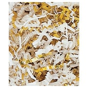 10 lbs. Metallic Crinkle Cut Fill, Gold/White Blend