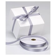 "5/8"" x 100 yds. Dyna Satin Ribbon, Silver"