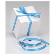 "5/8"" x 100 yds. Dyna Satin Ribbon, Turquoise"
