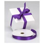"7/8"" x 100 yds. Dyna Satin Ribbon, Purple"