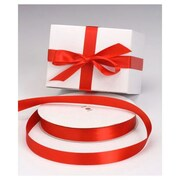 "7/8"" x 100 yds. Dyna Satin Ribbon, Red"