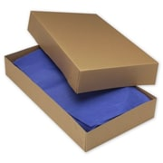 "Two-Piece Apparel Boxes, 24"" x 14"" x 4"""