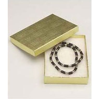 Linen Jewelry Boxes, 5-1/4