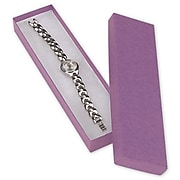 "8"" x 2"" x 7/8"" Jewelry Boxes, Purple (52-080201-14)"