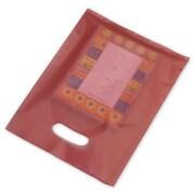 "Polyethylene 12""H x 9""W High Density Merchandise Bags, Red, 500/Pack"