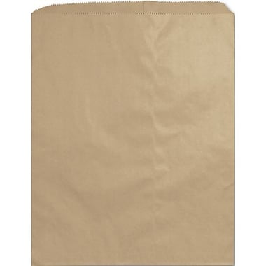Sac en papier notion, kraft, 9 x 12 (po)