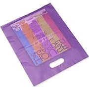 "Polyethylene 15""H x 12""W High Density Merchandise Bags, Grape, 500/Pack (54-1215-FHD66)"
