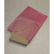 "High-Density Polyethylene 21""H x 14""W x 3""D Merchandise Bags, Cerise, 500/Pack"
