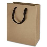 "10"" x 8"" x 4"" Matte Laminated Manhattan Eco Euro-Shoppers, Kraft"