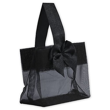 Satin Bow Mini Totes, 3 1/4