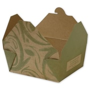 "Sonoma Kraft Paper 2.5""H x 4.75""W x 6""L Food Containers, Brown, 300/Pack"