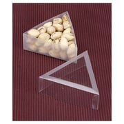"""Polyethylene 1.25""""H x 3.5""""L Gift Boxes, Clear, 10/Pack"""