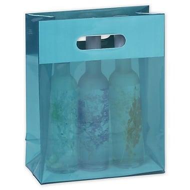 Sacs Jelly Jade, 8 x 4 x 10 (po), bleu, 250/paquet