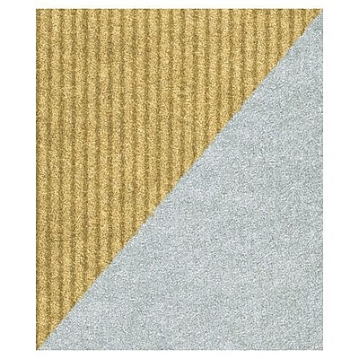 "Bags & Bows® 24"" x 417' Reversible Gift Wrap, Silver/Gold, RL"