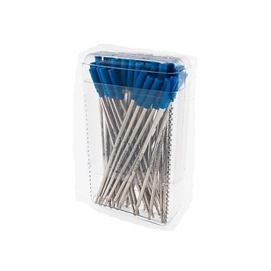 Monteverde® Medium Ballpoint Refill For S.T. Dupont Ballpoint Pens, Blue, 50/Pack
