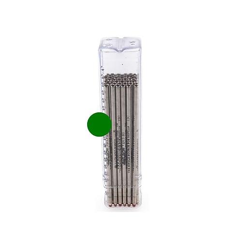 Monteverde® Medium Mini D-1 Ballpoint Refill, Green, 50/Pack