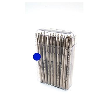 Monteverde® Medium Soft Roll Ballpoint Refill For Montblanc Pens, Blue, 50/Pack