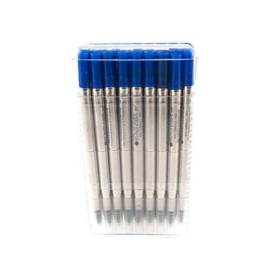 Monteverde® Fine Rollerball Refill For Parker Rollerball Pens, Blue, 35/Pack