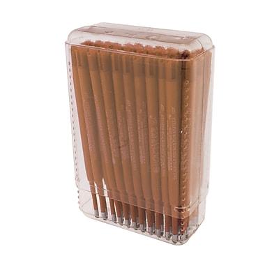 Monteverde® Resin Tube Soft Roll Ballpoint Refill For Parker Ballpoint Pens, Brown, 50/Pack