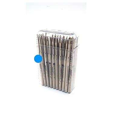 Monteverde® Medium Ballpoint Refill For Waterman Ballpoint Pens, Turquoise, 50/Pack