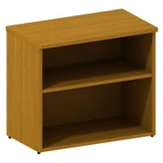 "Bush 300 Series 30""W Lower Bookcase Cabinet, Modern Cherry"