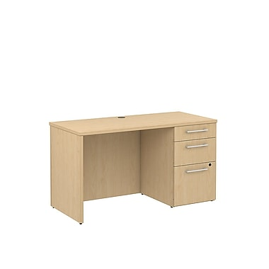 Bush 300 Series Single Pedestal Credenza, 47.6