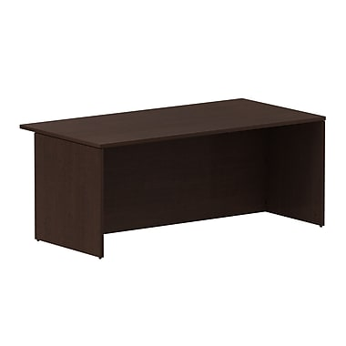 Bush – Coquille de bureau de la collection Série 300, fini cerisier Mocha