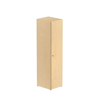 Bush Business 300 Series 72H Locker, Natural Maple