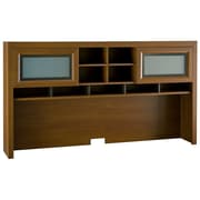 Bush Furniture Achieve Hutch, Warm Oak (PR67311)