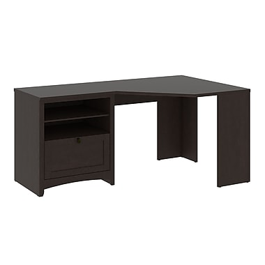 Bush Furniture Buena Vista 60W Corner Desk, Madison Cherry (MY13815-03)