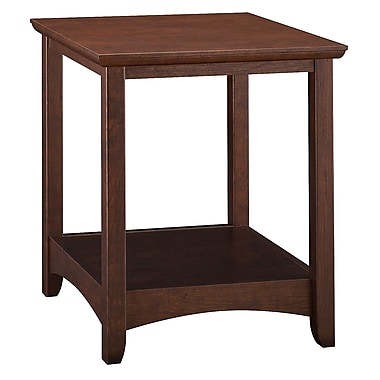 Bush Furniture Buena Vista End Table, Madison Cherry (MY13877-03)