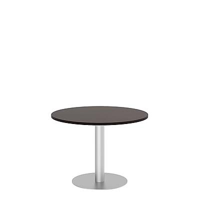 Bush Business 42'' Round Conference Table, Mocha Cherry, Installed (99TBD42RMRSVKFA)